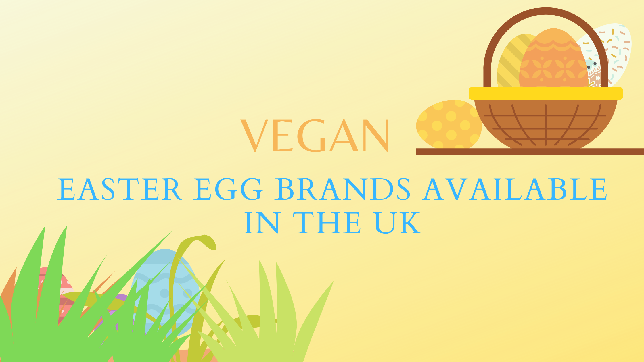 vegan easter egg brands uk