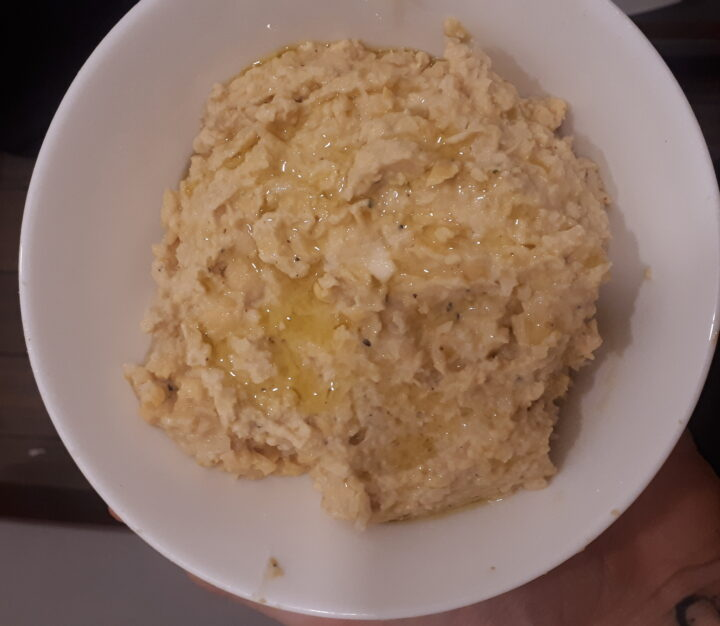 homemade vegan hummus recipe